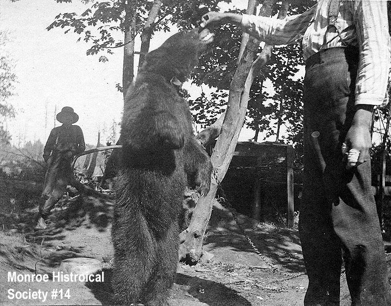 0014 – Wes Barber (a.k.a. Hiram Green) and his pet bear