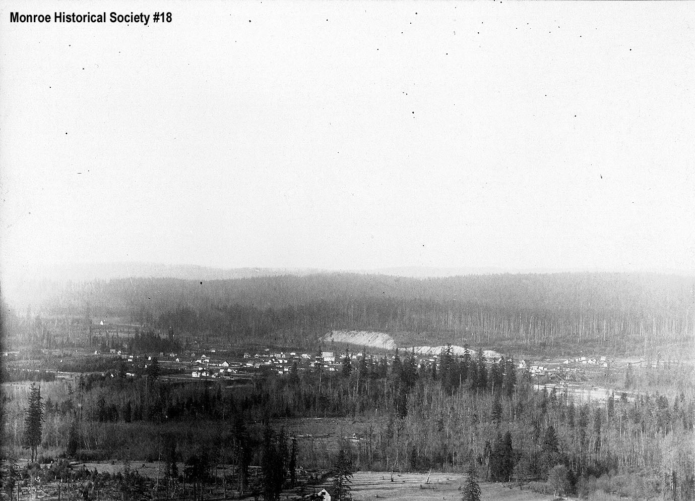 0018 – View of Monroe from the south c1902