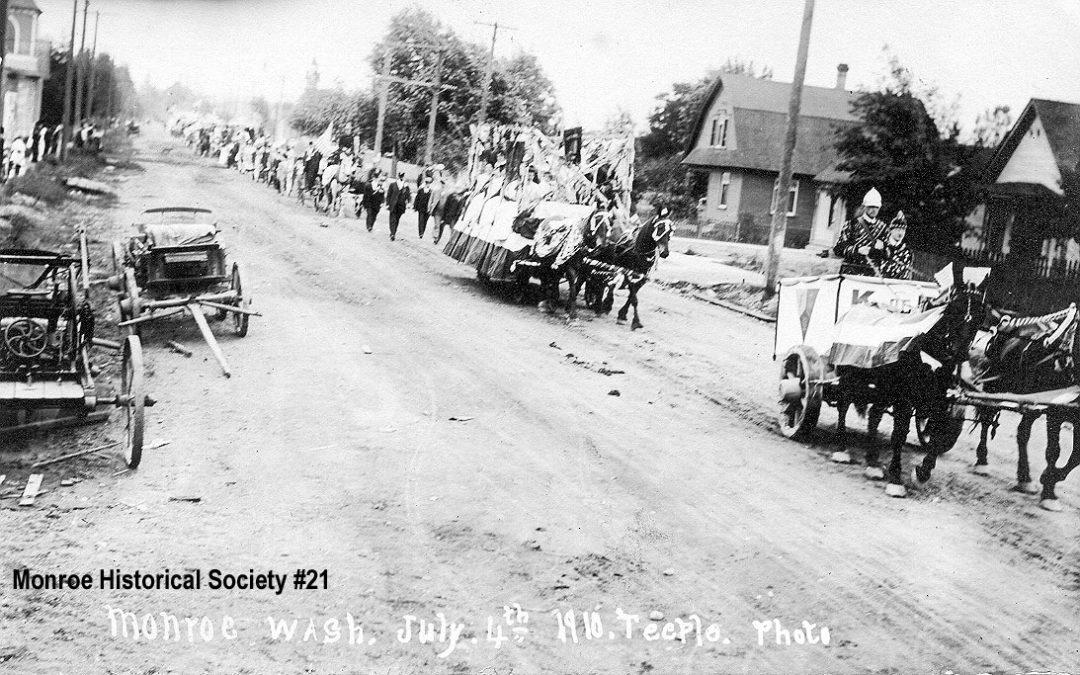 0021 – 4th of July Parade 1910