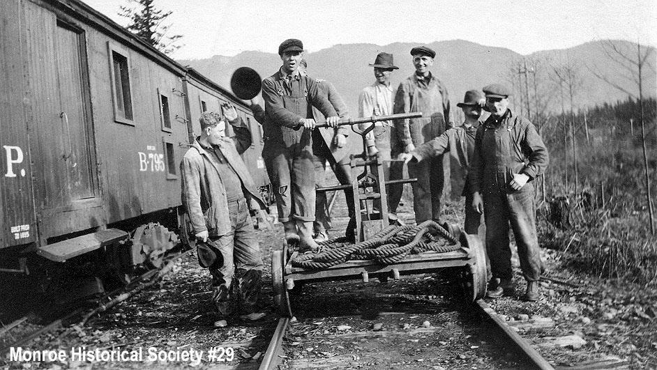 0029 – Railroad track crew