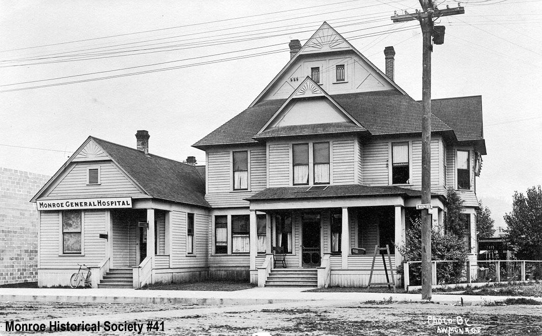 0041 – Monroe General Hospital (formerly Stephens Hospital) c1912