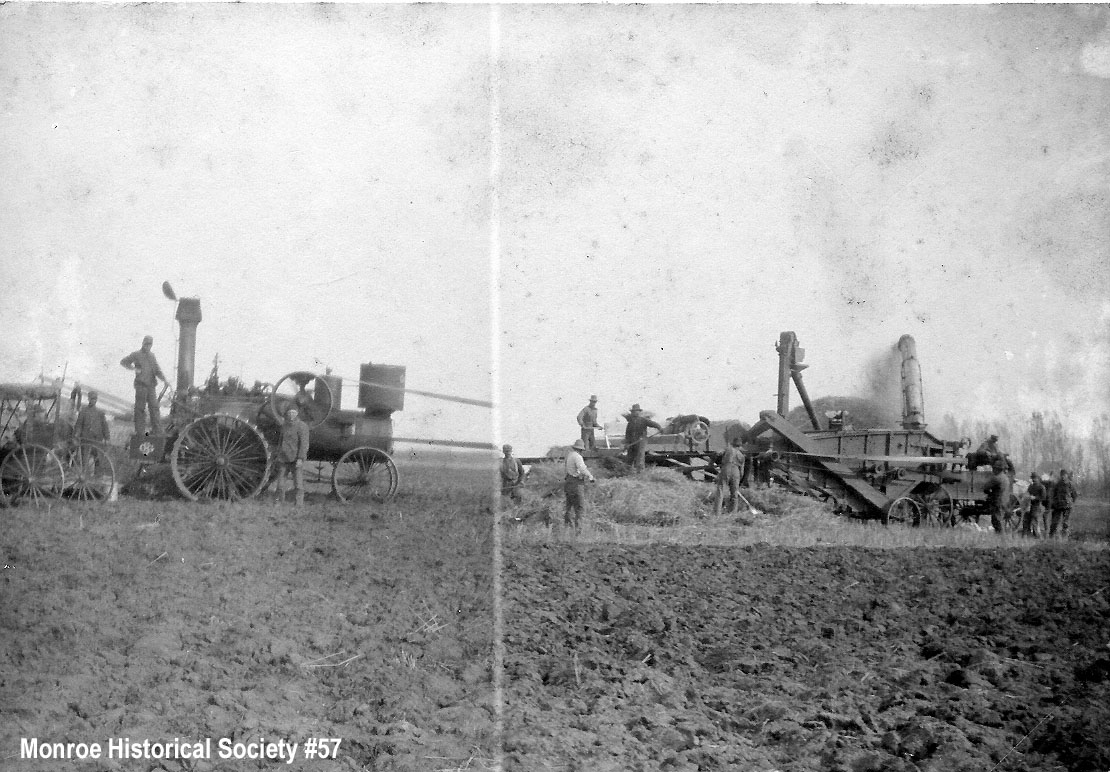 0057 – Threshing machine