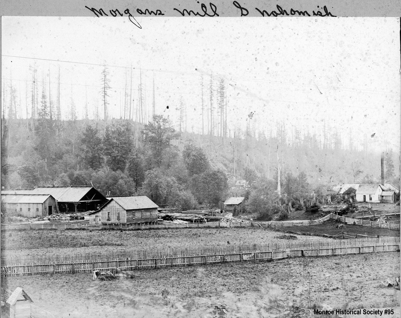 0095 Morgan's Water Power Mill, Snohomish c1879