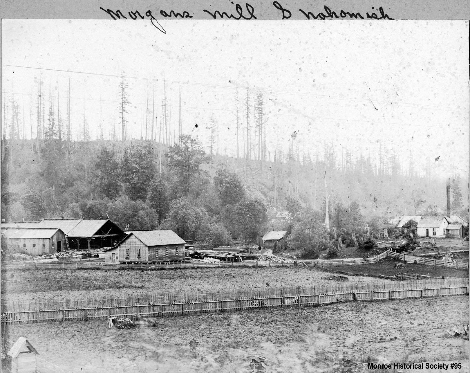 0095 Morgan's Water Power Mill, Snohomish c1879